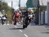 John Burrows ahead of Michael Dunlop and John Walsh munster 100 2010