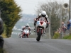 Michael Pearson ahead of William Dunlop Cookstown 100