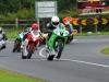Supersport action at Walderstown Derek McGee leads Ronan Pentony
