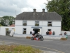 Tommy Heaphy from Tipperary rounds the old Garda Station at Walderstown