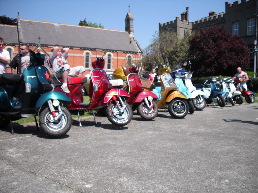 Some classic scooters