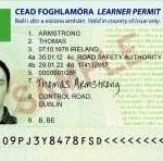 Sample Learner Permit