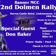 The Banner MCC's Dolmen Rally takes place Saturday 10th sept 2011 at the Burren Castle Hotel, Lisdoonvarna Co.Clare. Stunts by world famous Mattie Griffen, first […]
