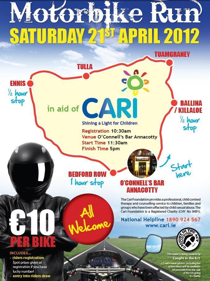 CARI Run 2012 Poster