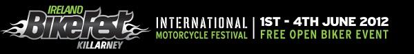 Ireland BikeFest Killarney Banner Graphic