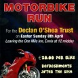 West Coast Motorcycle Club Motorcycle Run in aid of the Declan O'Shea Trust, Easter Sunday, 8th April. Leaving the 1 Mile Inn, Ennis, Co. Clare […]