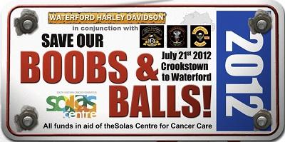 Boobs & Balls Run 2012 graphic