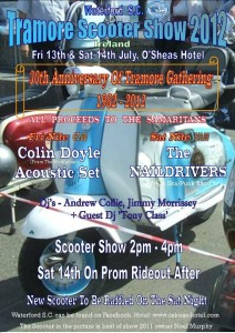 Tramore Scooter Show 2012 poster