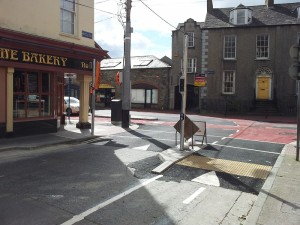 Junction of Crowe St. and Chapel St., Dundalk