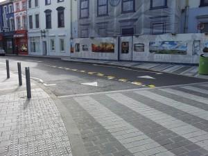 Plastic lane divider