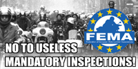 No to mandatory inspections