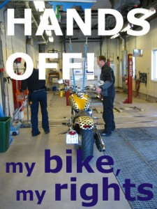 Hands Off! My Bike, My Rights