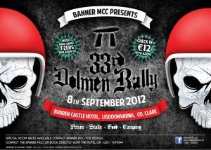 Banner MCC Dolmen Rally Poster