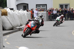 2 stroke action at Faugheen William leads Michael and Barry Davidson