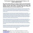 Democracy works by giving people a voice in how they aregoverned, and thus a say in their own future. Inthe European Parliament (the directly elected […]