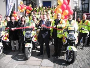 Launch of Blood Bike East