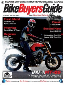 Bike Buyers Guide, October 2013. Available in all good newsagents