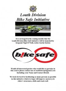Bike Safe Louth Poster