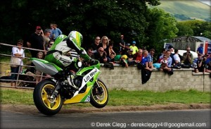 James Kelly at the 2013 Armoy road races. Photo © Derek Clegg. All rights reserved.
