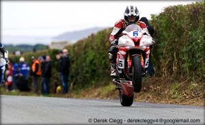 William Dunlop (CD Racing R6 Yamaha) at the 2013 Killalane road races. Photo © Derek Clegg. All rights reserved.