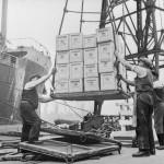 Dock Workers in Bristol, England, 1940