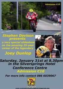 Stephen Davison Slide Show, Joey Dunlop