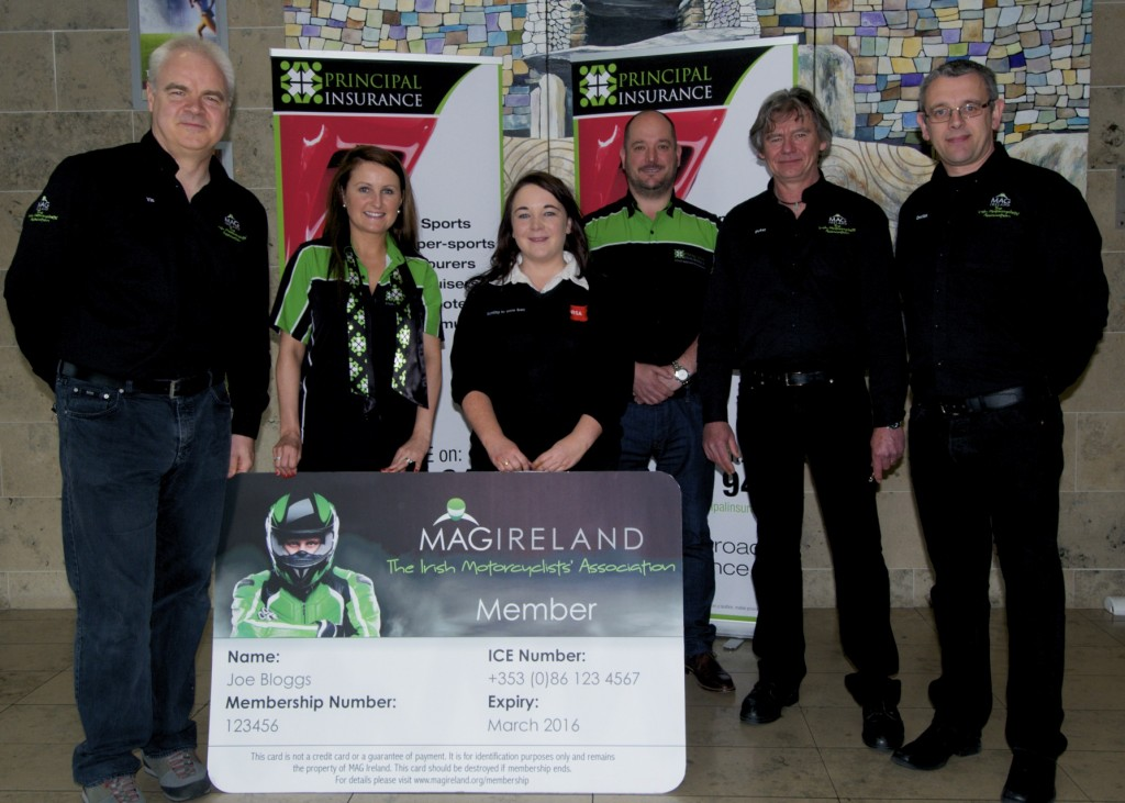 MAG Ireland ICE membership card launch