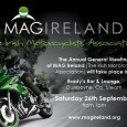 A beautiful autumn day greeted delegates and members who attended the Annual General Meeting of MAG Ireland(The Irish Motorcyclists' Association) which took place on Saturday […]