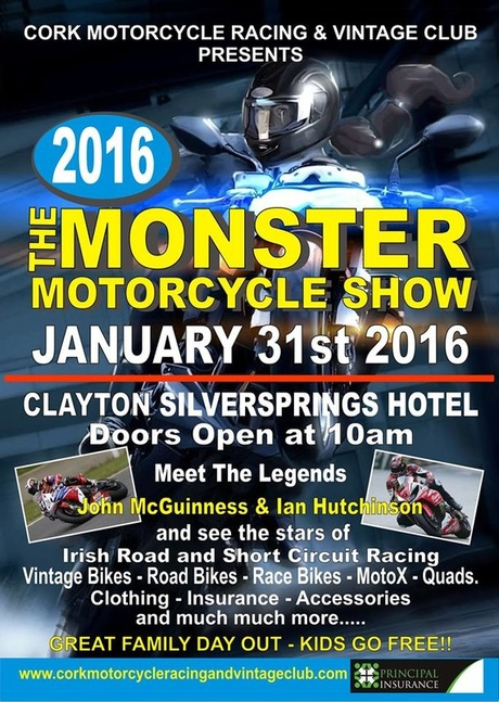 Monster Motorcycle Show, Cork, 31st January 2016