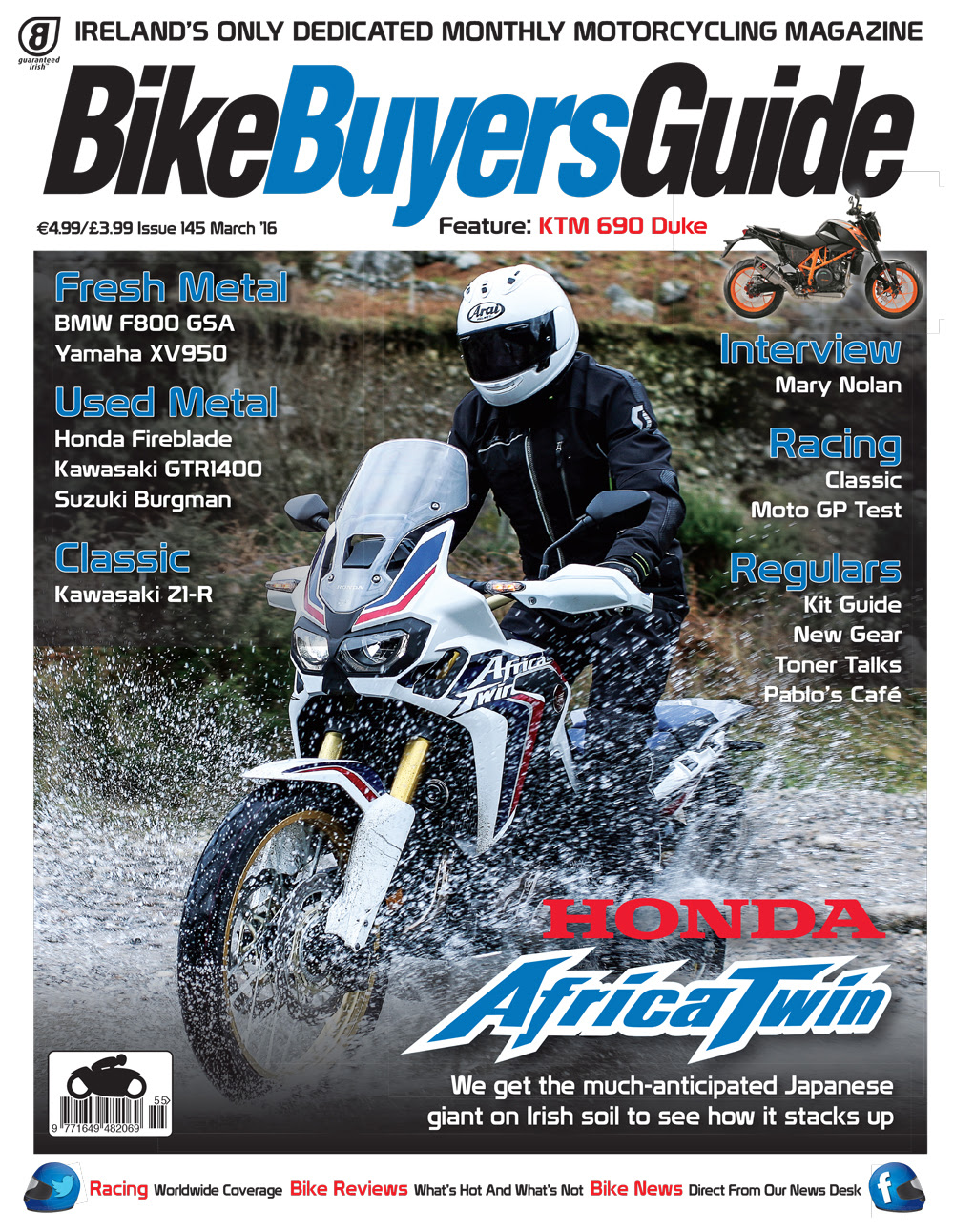 Bike Buyers Guide, March 2016